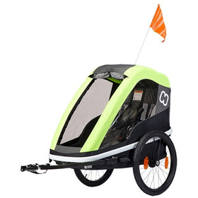 Hamax Avenida ONE Bike Trailer incl. Bicycle Arm & Stroller Wheel, lime